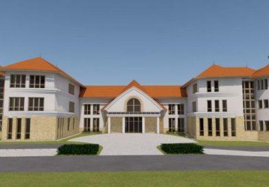 Az új épület